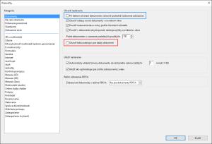 Adobe Acrobat Reader DC - nastavenie zobrazenia panelov