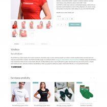 Detail produktu v e-shope