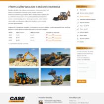 CASE - kategória stroja