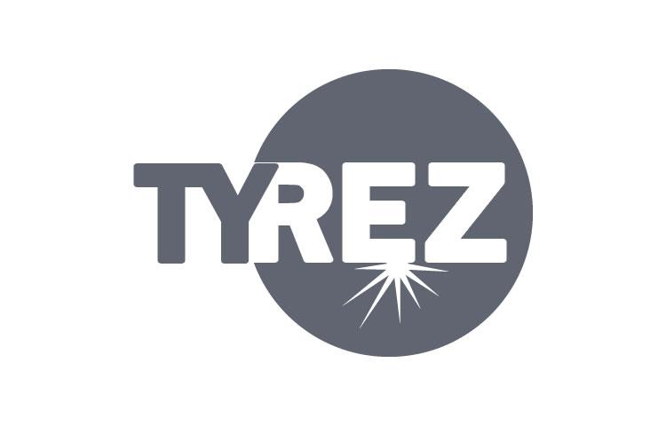Logo pre firmu TYREZ s.r.o.