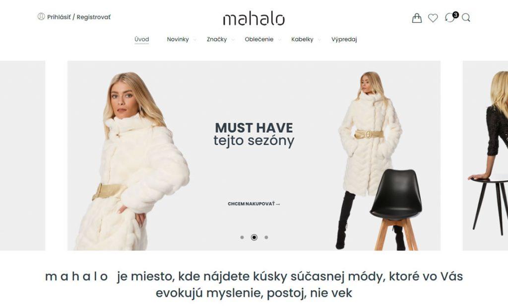 Nový e-shop s oblečením