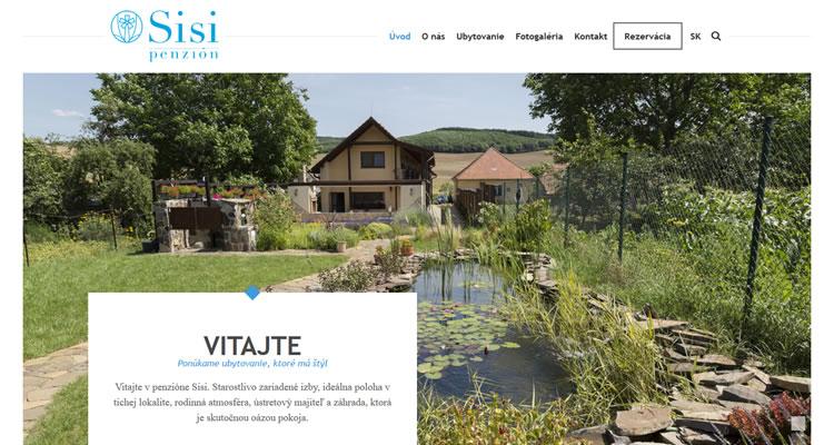 Nová stránka www.sisipenzion.sk