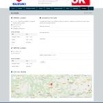 suzukilucenec.sk - kontakty s formulármi