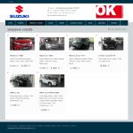 suzukilucenec.sk - skladové vozidlá s parametrami