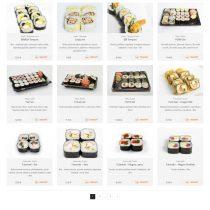 Yakuzasushi - Ponuka sushi